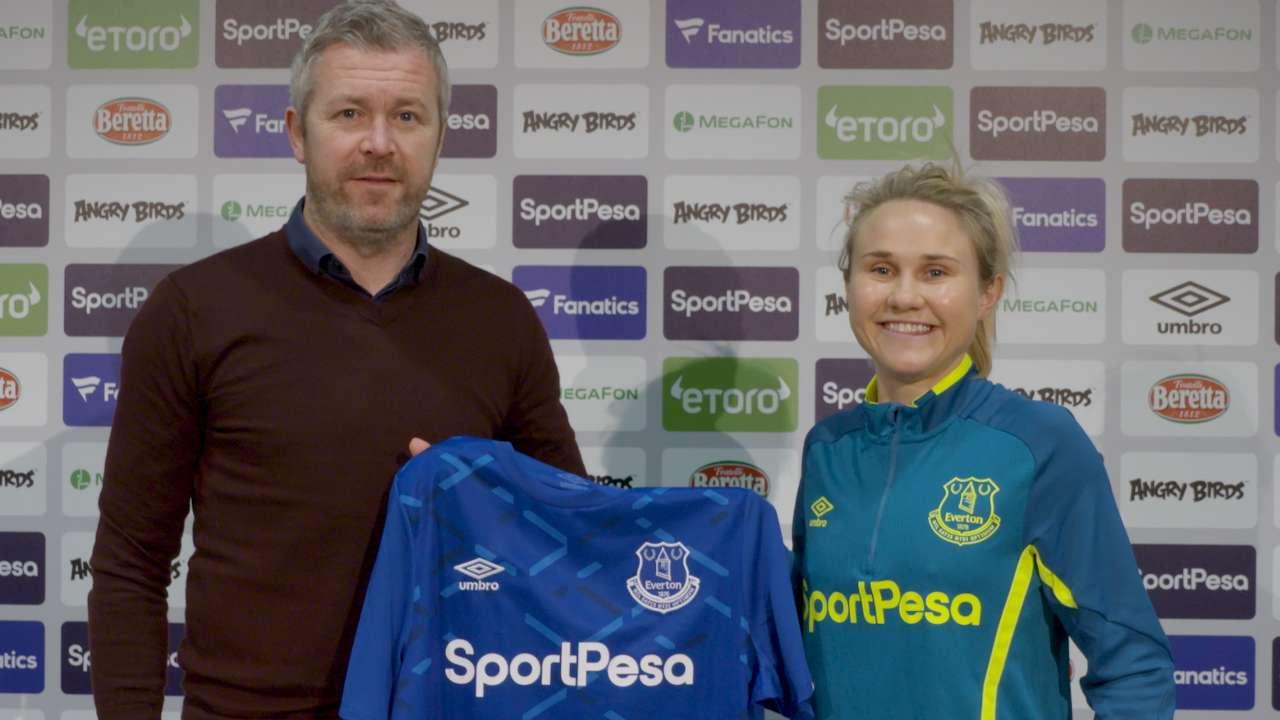 Izzy Christiansen Everton