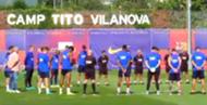FC Barcelona training