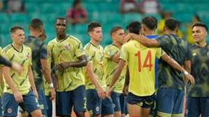 Colombia celebra victoria sobre Paraguay Copa América 2019