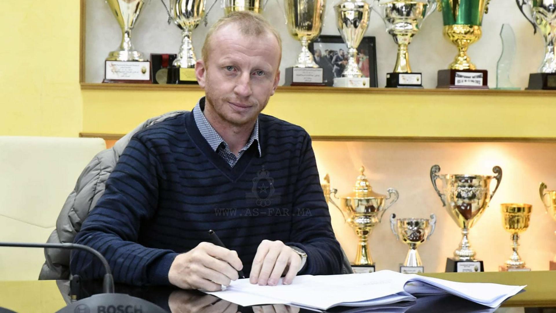 Vandenbroeck: Former Simba SC coach signs for Morocco's ASFAR Rabat