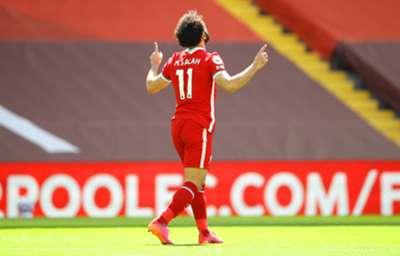 Mohamed Salah, Liverpool Newcastle 24-4-2021