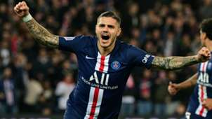 Mauro Icardi PSG Marseille Ligue 1 27102019