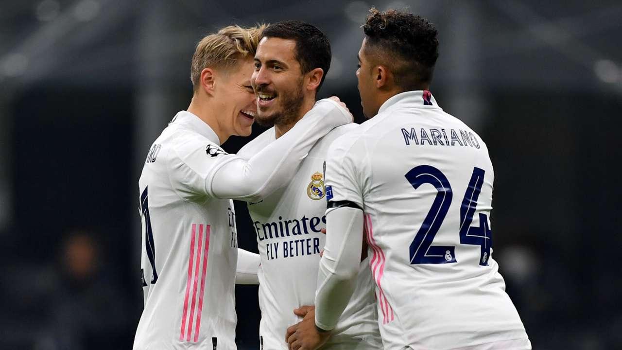 Eden Hazard - Inter Real Madrid - Champions League 2020/21