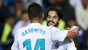 Isco Casemiro Real Madrid