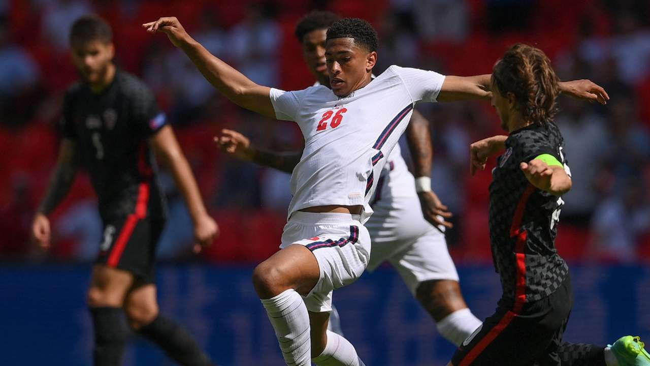 Jude Bellingham England vs Croatia Euro 2020