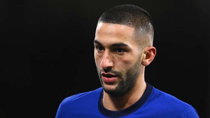 Hakim Ziyech Chelsea 2020-21