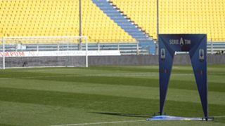 Empty Serie A stadium