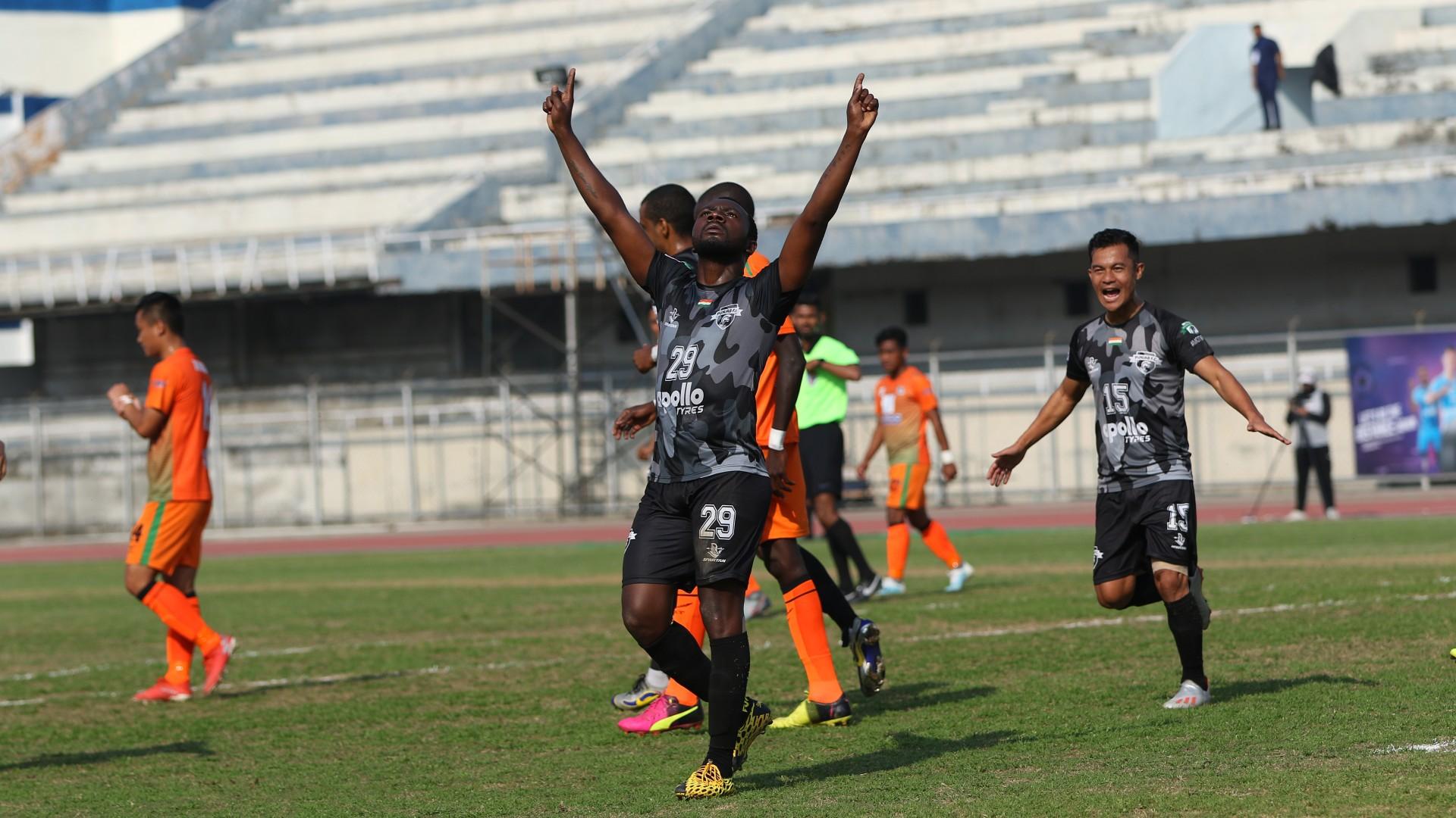 Punjab FC ride Aser Dipanda Dicka hat-trick to down NEROCA FC