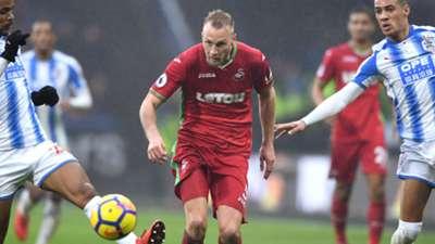 Mike van der Hoorn Swansea City