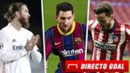 Ramos, Messi y Saúl, mercado