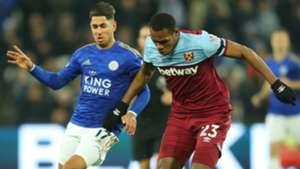 Ayoze Perez Issa Diop Leicester City West Ham