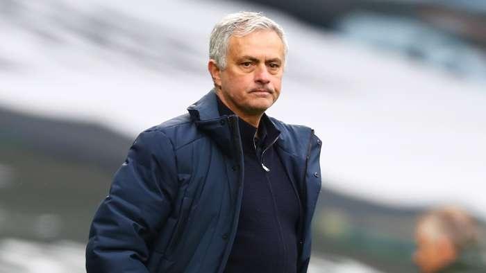 Jose Mourinho Tottenham vs Man Utd Premier League 2020-21