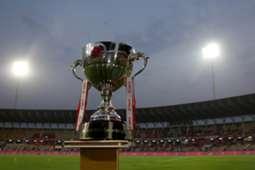 ISL Indian Super League trophy