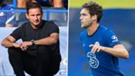 Frank Lampard Marcos Alonso split main