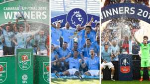 GFX Manchester City Domestic Treble