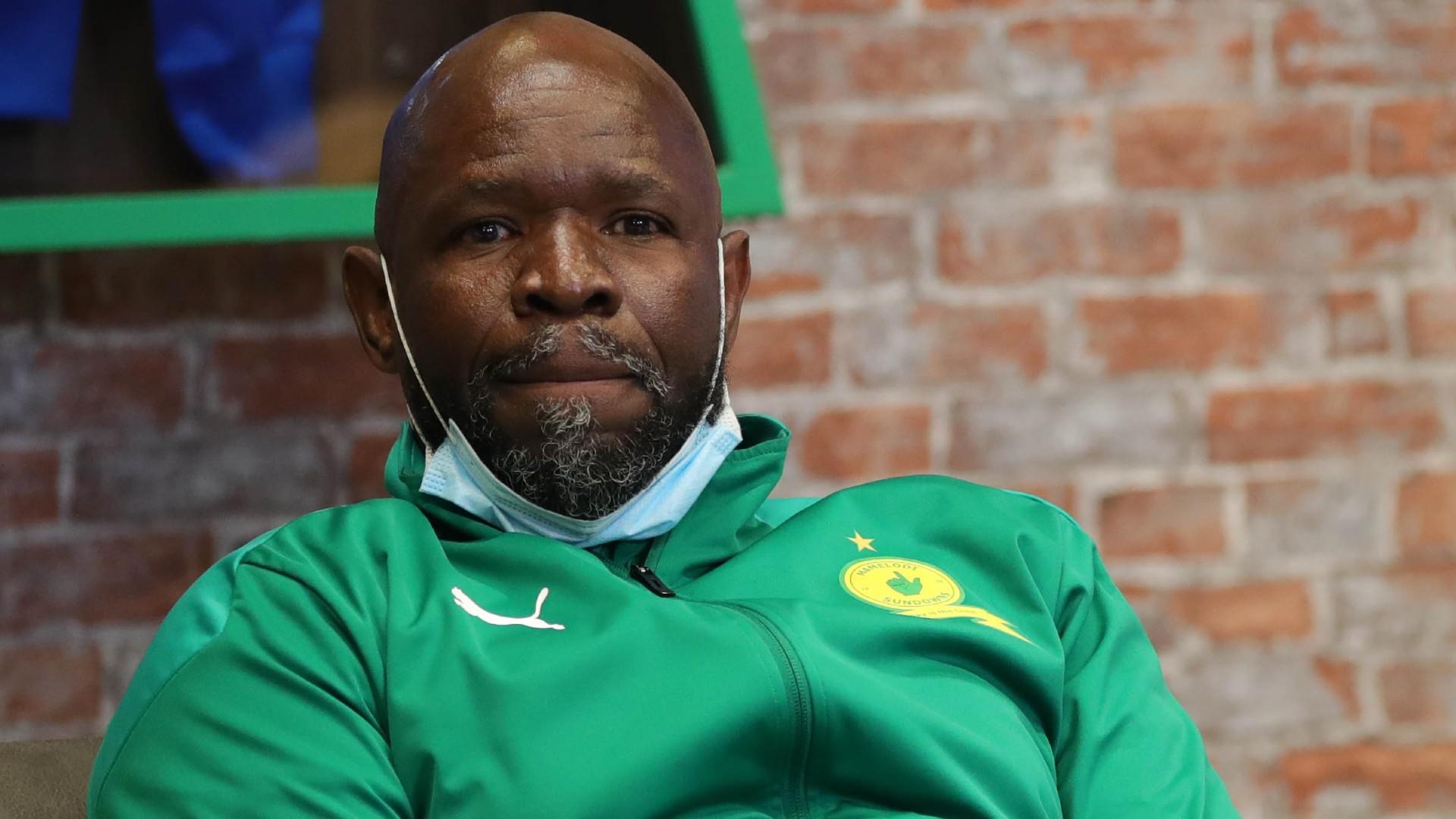 Mamelodi Sundowns coach Komphela exposes fan abuse after Chippa United draw