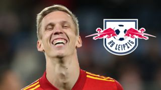 Dani Olmo, RB Leipzig logo