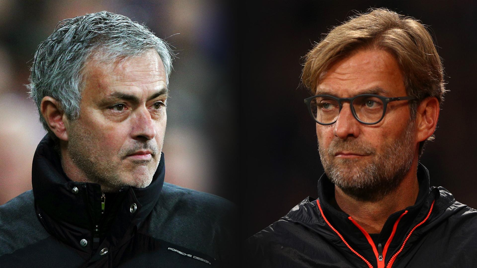 HD Jose Mourinho Manchester United Jurgen Klopp Liverpool