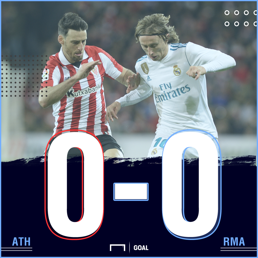 Athletic Real Madrid score