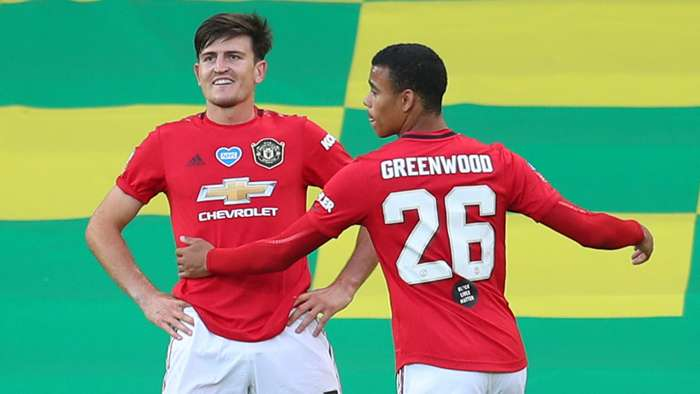 Harry Maguire, Mason Greenwood, Man Utd