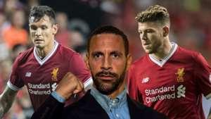 Lovren, Moreno, Ferdinand split