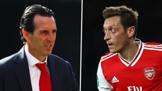Unai Emery, Mesut Ozil, Arsenal