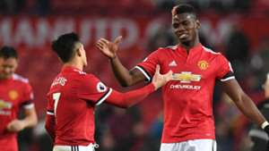 Alexis Sanchez, Paul Pogba, Man Utd