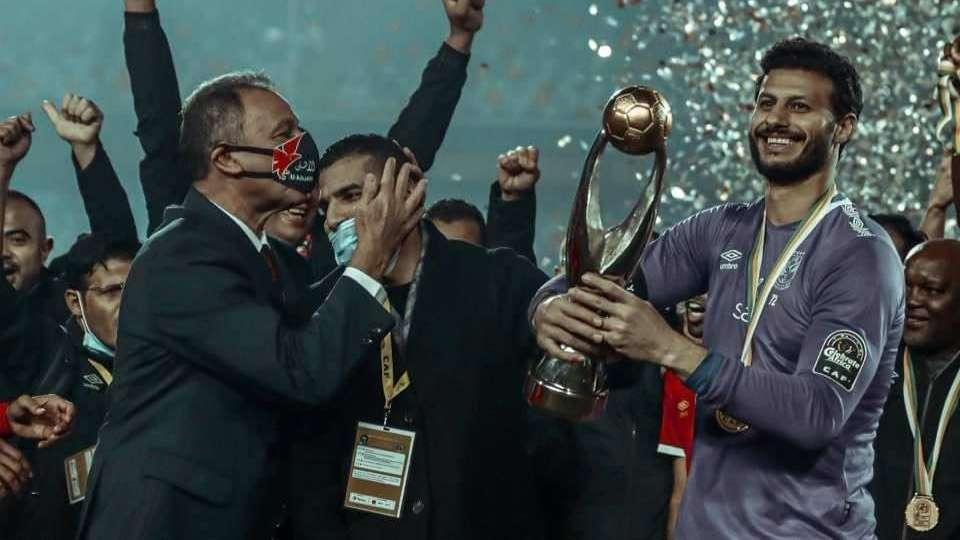 Moamen Zakaria - Mohamed El Shenawy – Mahmoud el khatib – al ahly – caf champions league 2020