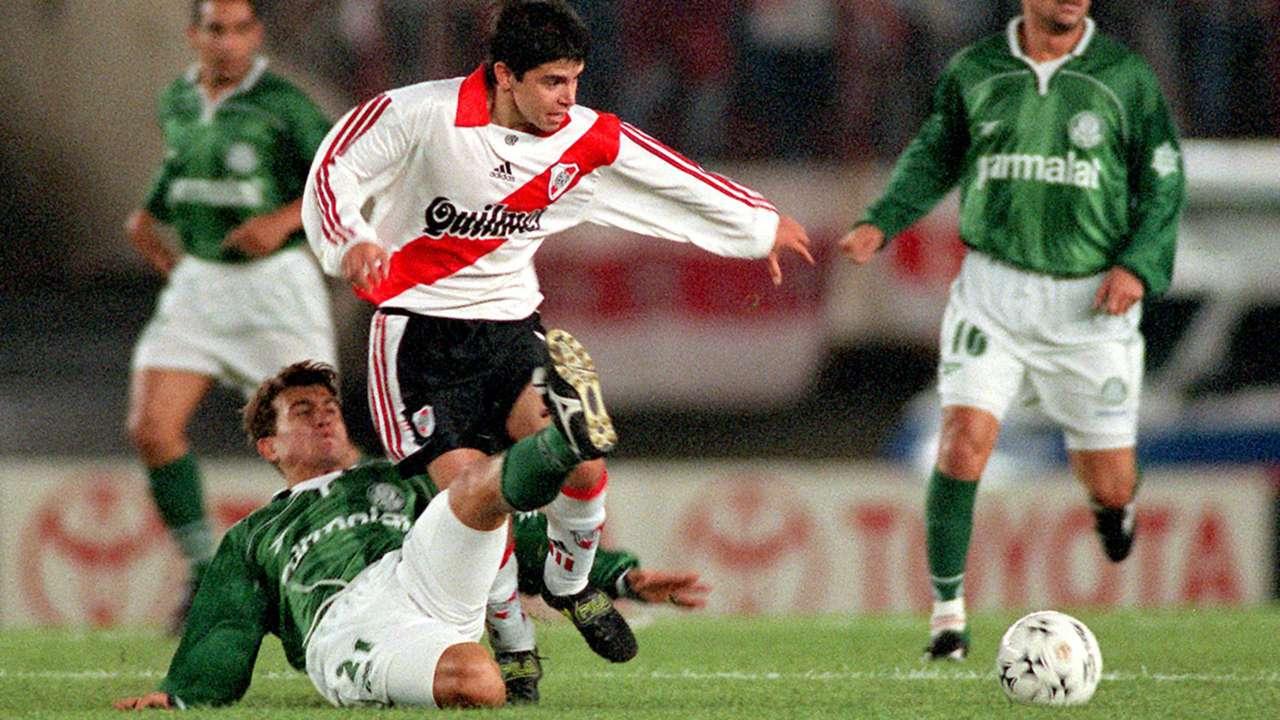 Palmeiras River Plate Rubens Javier Saviola Copa Libertadores 1999