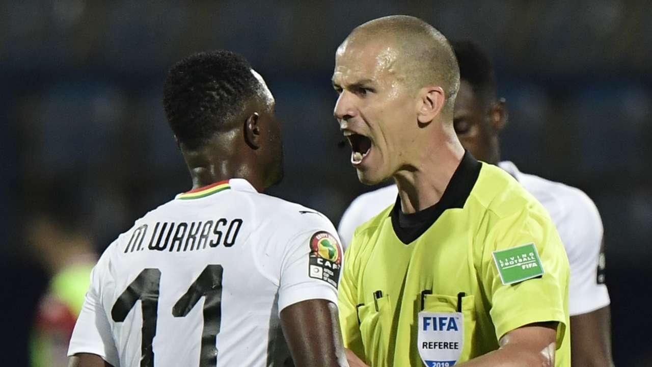 Mubarak Wakaso, Referee, Ghana