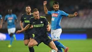 Skriniar Insigne - Napoli-Inter