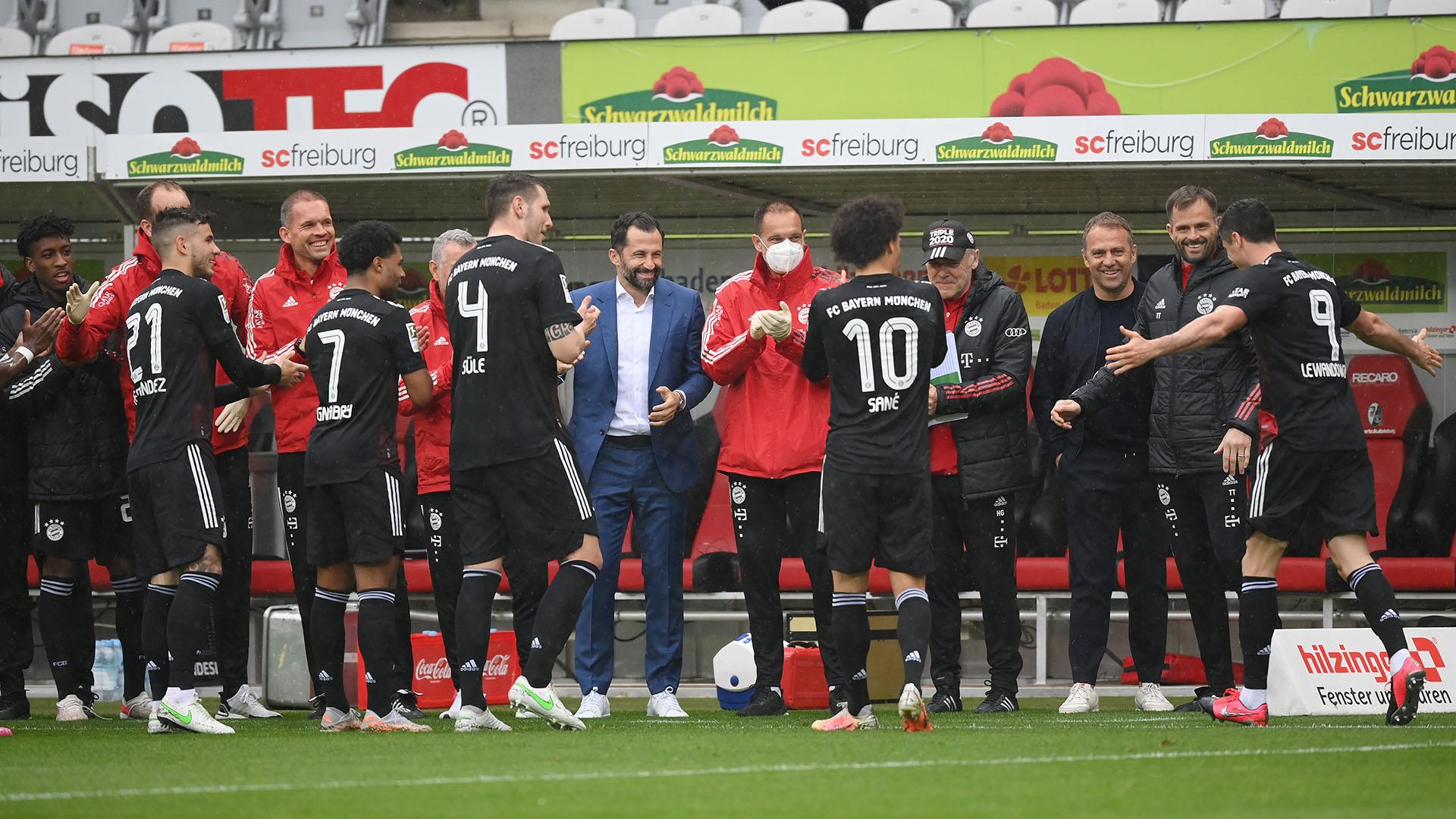 Lewandowski matches Muller record with 40th Bundesliga goal of the season for Bayern Munich