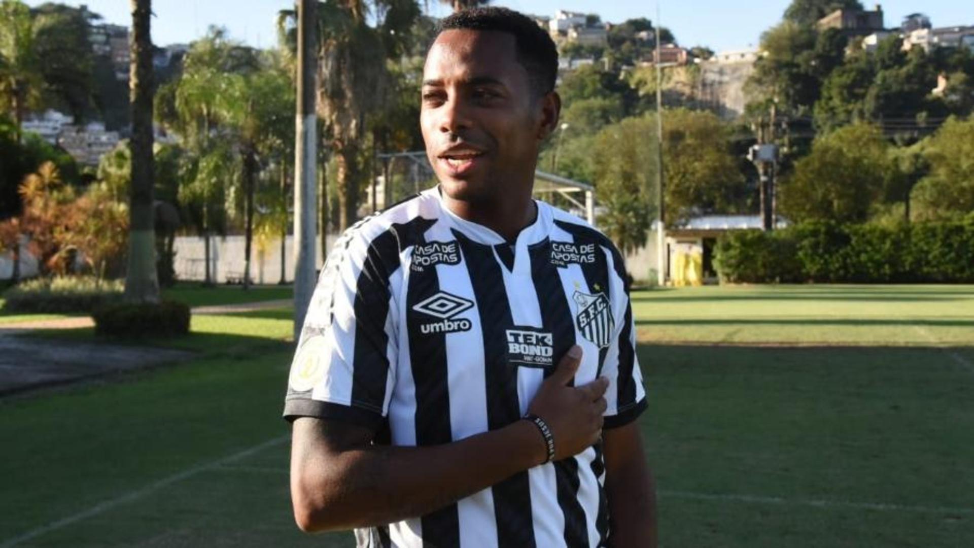 Santos : Robinho quitte le club à cause d'ennuis judiciaires