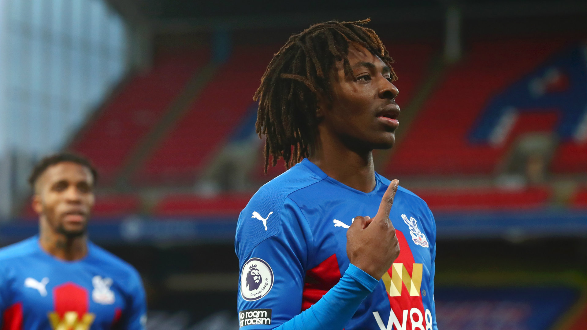 Eze wins second Crystal Palace Player of the Month award
