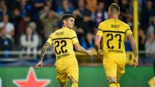 Christian Pulisic Borussia Dortmund Club Brugge Champions League 2018