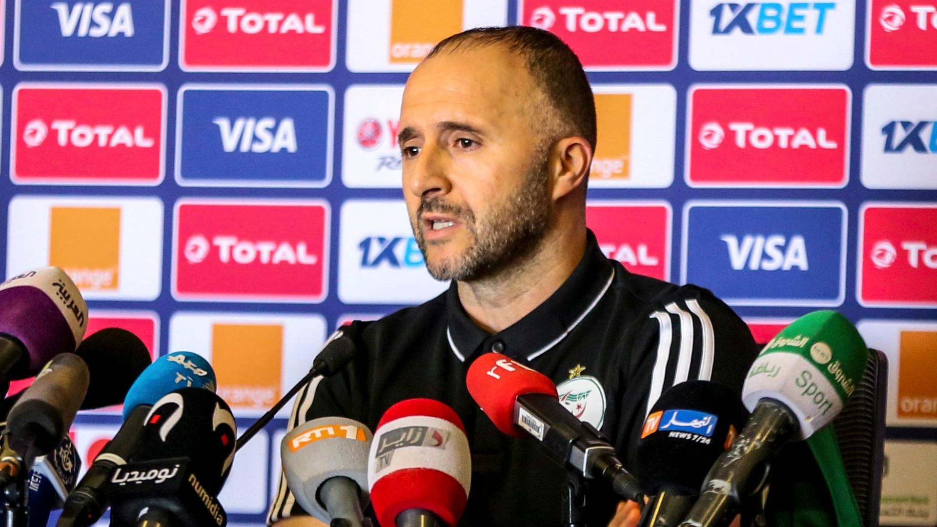 Belmadi: Algeria tactically better than Super Eagles
