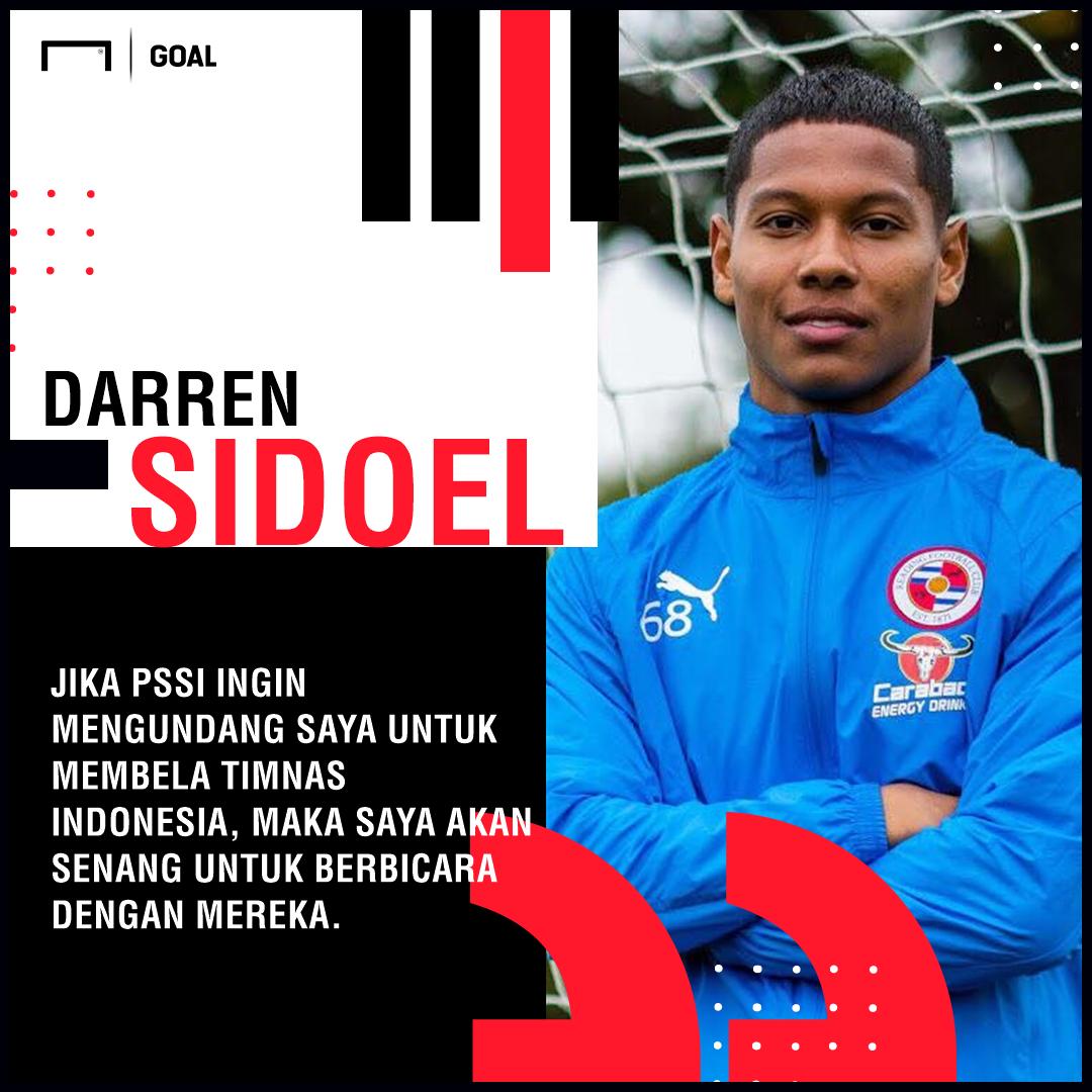 PROFIL Darren Sidoel Bek Keturunan Indonesia Yang Merajut