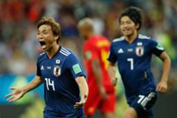 Takashi Inui - Belgium v Japan : World Cup 2018