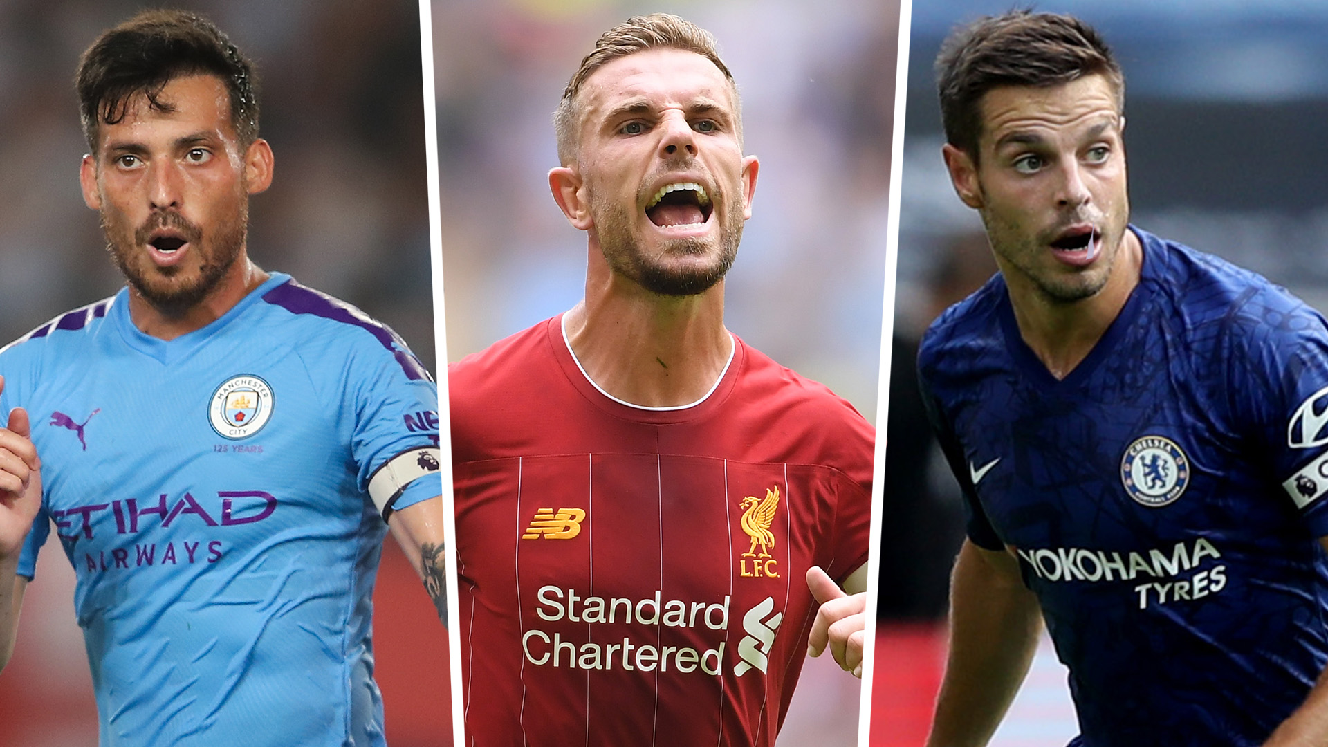Premier League Captains Man Utd Liverpool Arsenal All 20 Team Skippers For The 2019 20 Season Goal Com