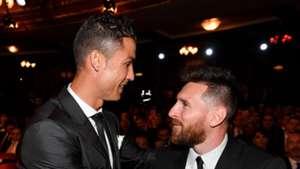 Cristiano Ronaldo Lionel Messi FIFA's The Best awards