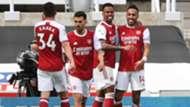 Pierre-Emerick Aubameyang Arsenal Newcastle 2020-21