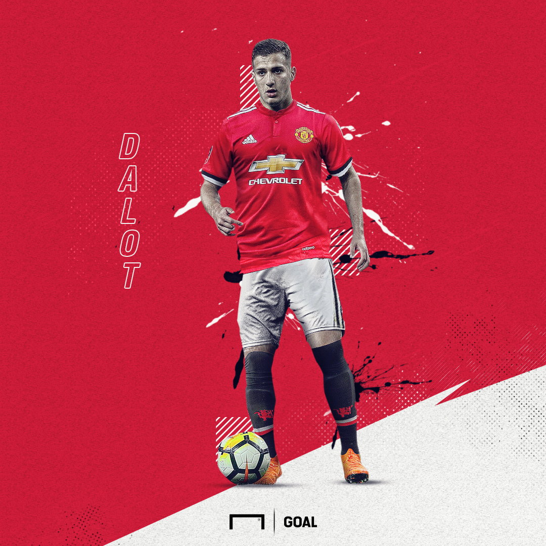 EMBED ONLY Diogo Dalot Manchester United GFX