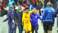 George Lebese and Steve Komphela of Kaizer Chiefs