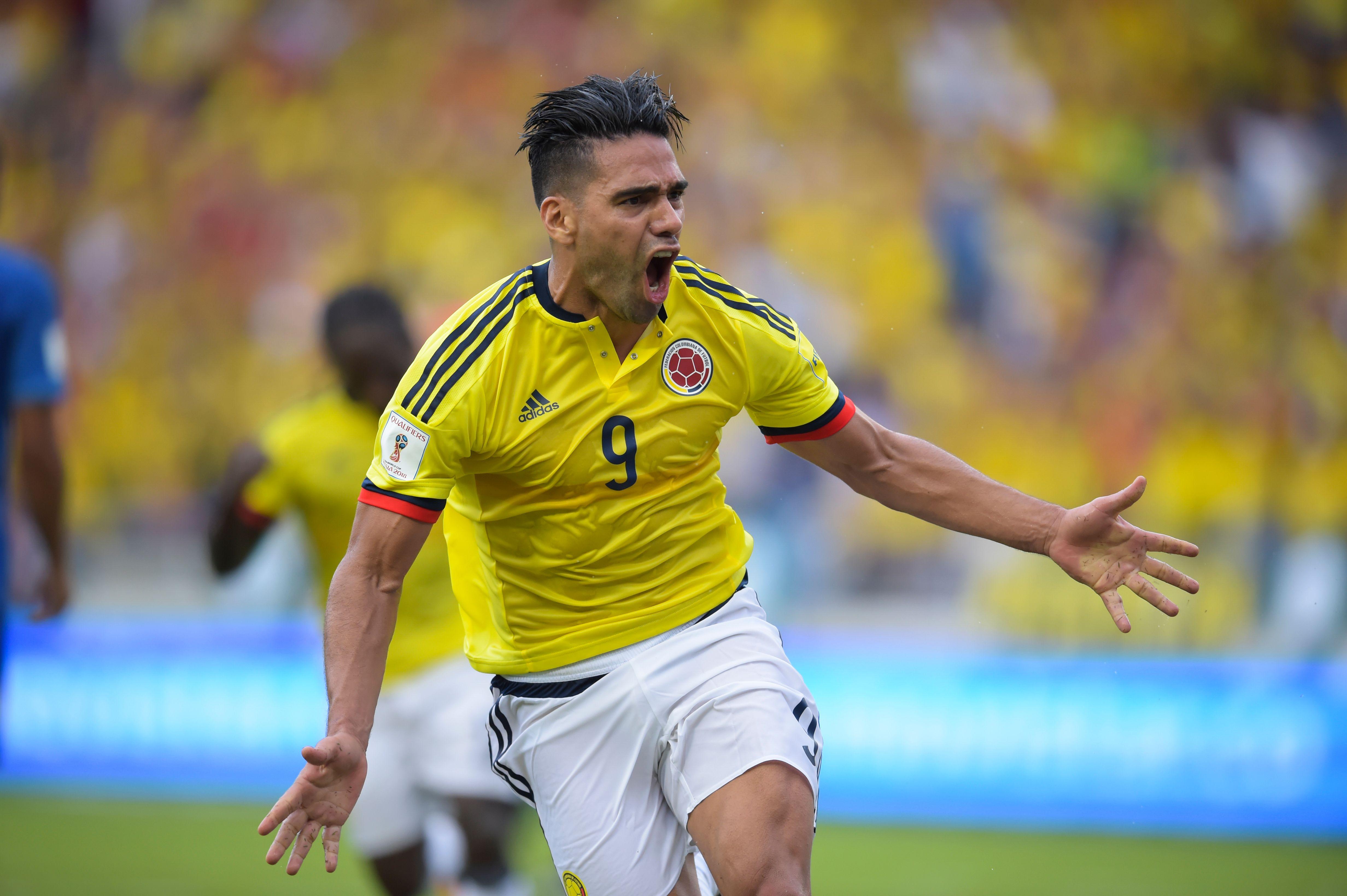 Radamel Falcao García Colombia vs Brasil Eliminatoria Rusia 2018