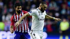 Karim Benzema Diego Costa Real Madrid Atletico Madrid UEFA Super Cup 15082018
