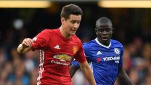 Ander Herrera N'Golo Kante Manchester United Chelsea