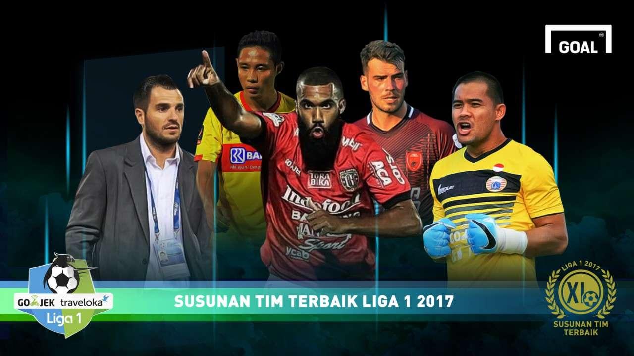 GFXID - Cover Susunan Terbaik Liga 1 2017