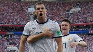 Dzyuba Russland WM 2018