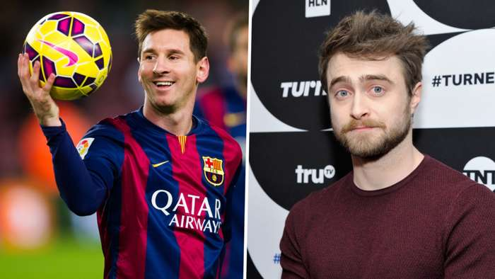 Lionel Messi Harry Potter