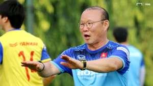 Park Hang Seo   Vietnamese National Football Team   Training Session 5 October 2019